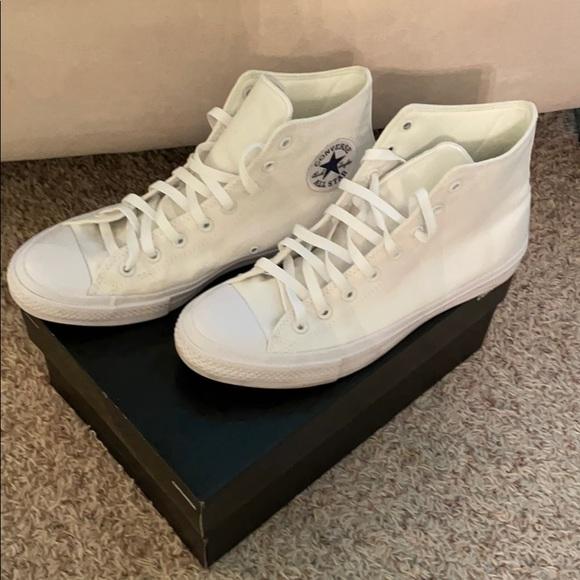 New Converse Chuck Taylor men's white shoes